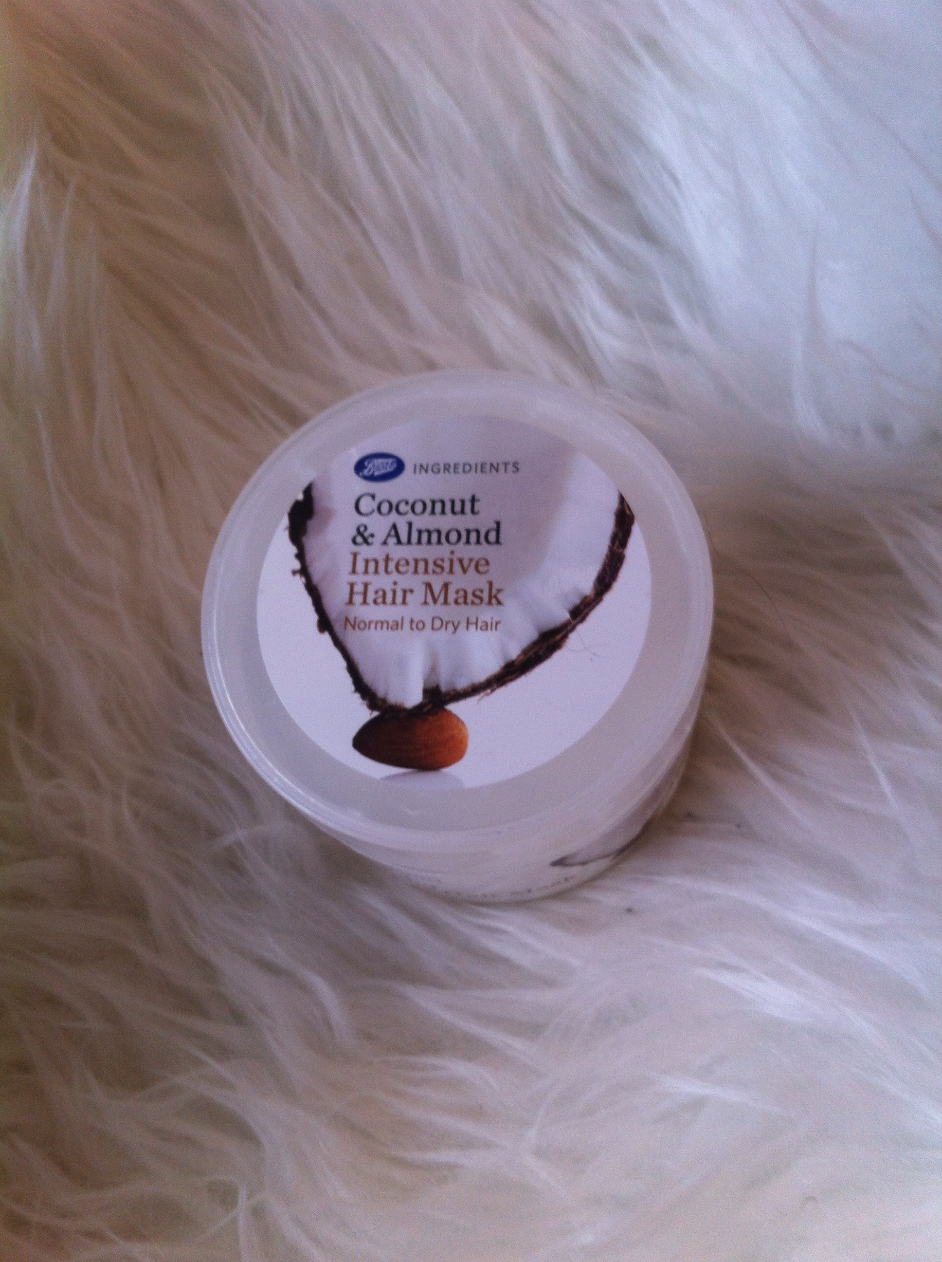 Boots Coconut Amp Almond Intensive Hair Mask Review