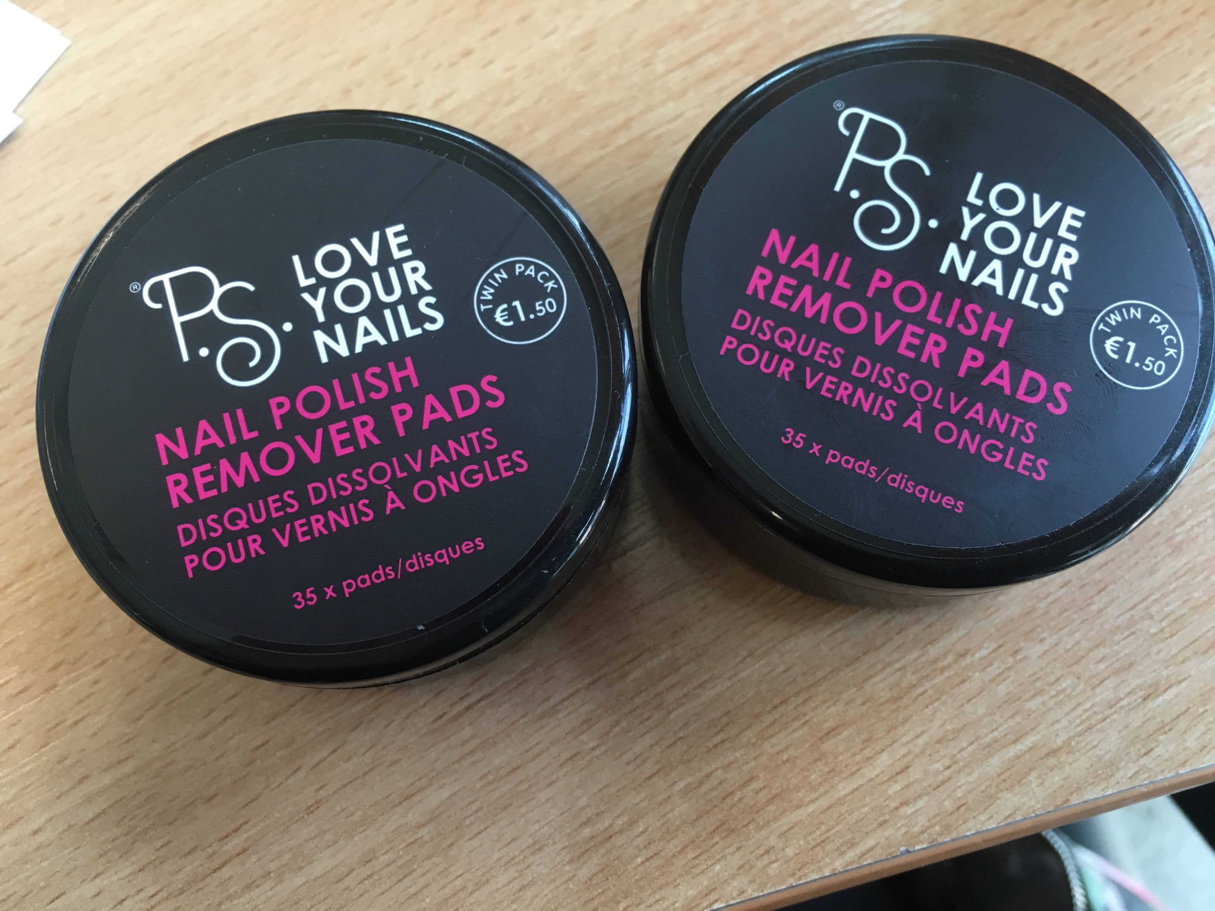 P.S Love Your Nails, Nail Polish Remover Pads – Cassmadaboutfashion