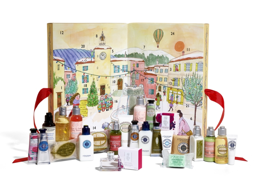 beauty-advent-calendars-loccitane