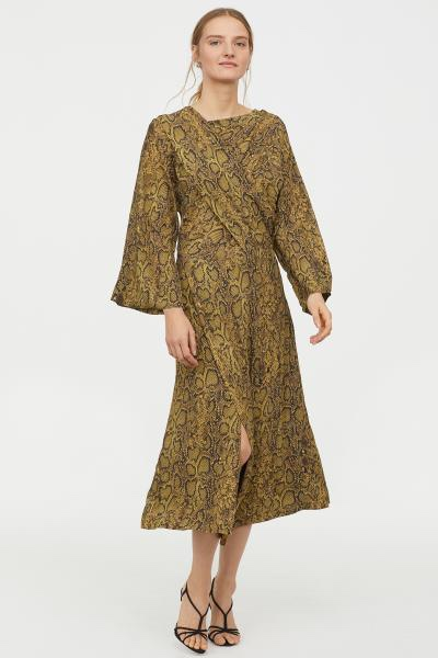 891c829171 Snakeskin dress, I love animal print and this trend is not going anywhere  it's €89.99 with the discount code it's €77.39 click here to shop.