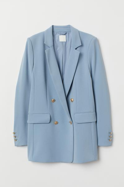 1fb96955e5 Blazers are always a good buy and this light blue blazer is just stunning.  Wear with a white t-shirt again heels or trainers and you have the perfect  outfit ...